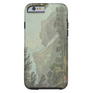 Lodore Rocks - fall & cottage distance (pen & ink Tough iPhone 6 Case