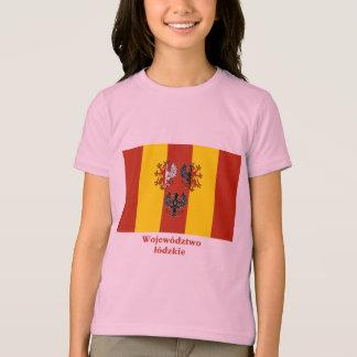 Łódzkie - Lodz  flag with name T-Shirt