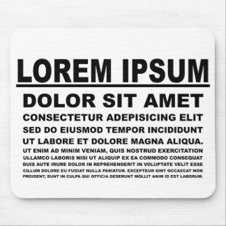 Loem Ipsum Tapete De Ratón
