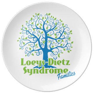 Loeys-Dietz placa de Porcelin de 10,75 pulgadas Platos De Cerámica