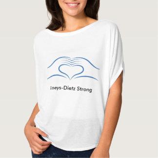 Loeys-Dietz toma a corazón la camisa para mujer