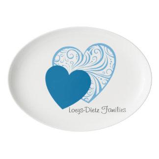 Loeys-Dietz toma el disco de la porción del Badeja De Porcelana