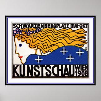 Loffler: Kunstschau Wien - Austrian Secession Poster