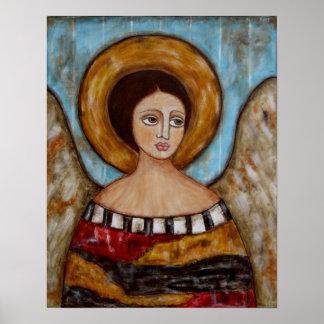 Lofiel - ángel - poster