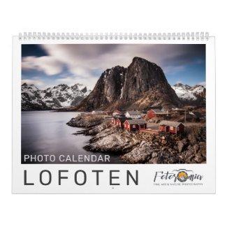 Lofoten 2022 calendar