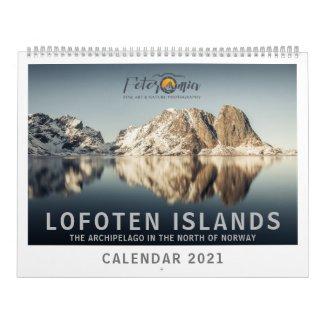 Lofoten Islands Calendar