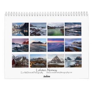 Lofoten Norway Calendar