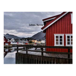 Lofoten, Norway Postcard