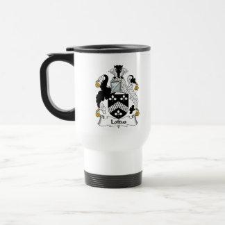 Loftus Family Crest 15 Oz Stainless Steel Travel Mug