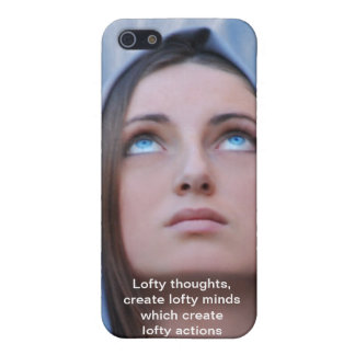 Lofty Thoughts Cover For iPhone 5