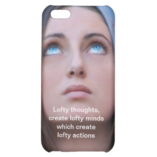 Lofty Thoughts iPhone 5C Cases