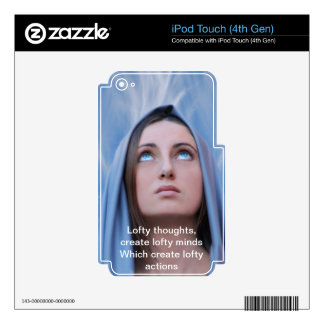 Lofty Thoughts iPod Touch 4G Skin
