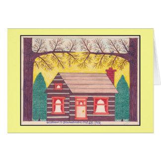 Log Cabin 10-28-1982 Card