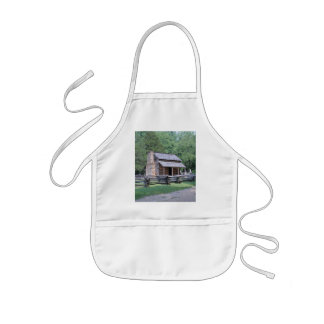 LOG CABIN APRON