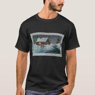 LOG CABIN by SHARON SHARPE T-Shirt