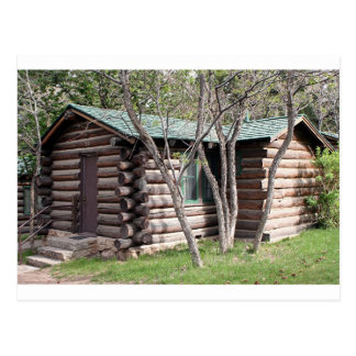 Log cabin, Grand Canyon North Rim, Arizona, USA Postcard