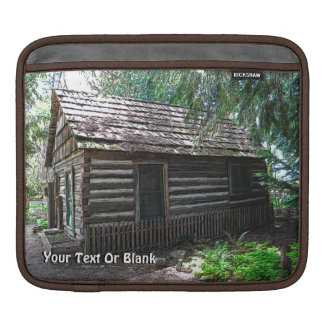 Log Cabin iPad Sleeve
