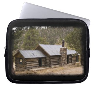 Log Cabin Laptop Bag