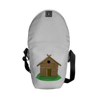 Log Cabin Messenger Bags