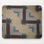 Log Cabin Mouse Pad