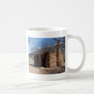 Log Cabin Classic White Coffee Mug