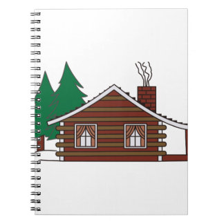 Log Cabin Notebook