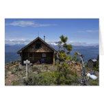 Log Cabin on Black Butte Card