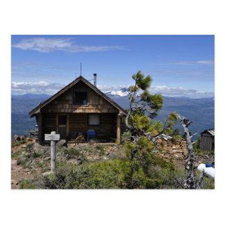 Log Cabin on Black Butte Postcard