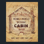 """Log Cabin Rustic Wood Look 