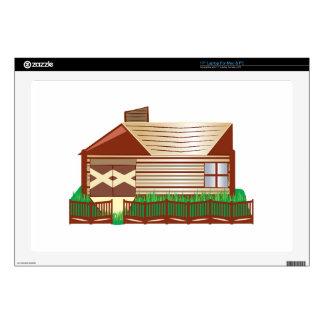 "Log Cabin Skins For 17"" Laptops"