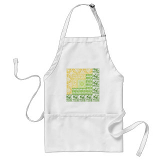 Log Cabin Spring Adult Apron