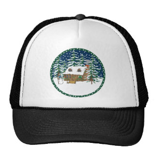 Log Cabin Trucker Hat