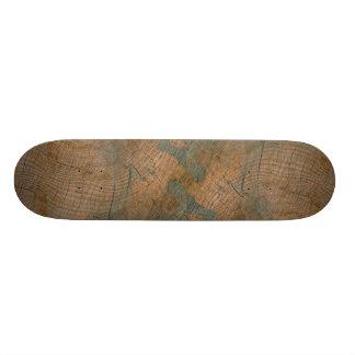 Log, grain custom skateboard
