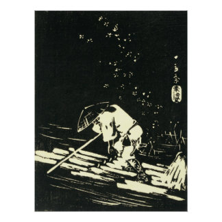 Log Raft 1848 Posters