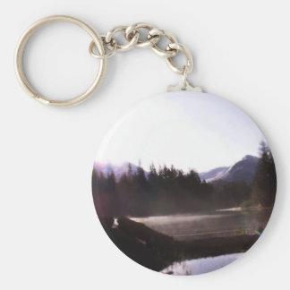 Log Reflections Sunrise Key Chain