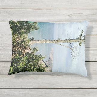 Log slide outdoor pillow