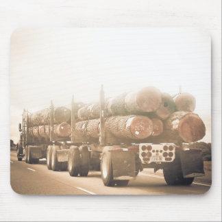 Log Truck'n Mousepad