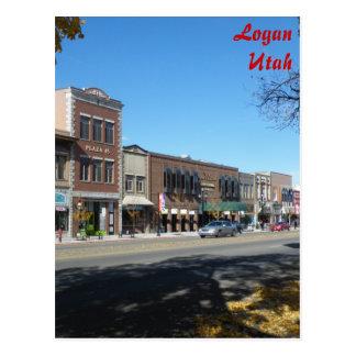 Logan - calle principal postal