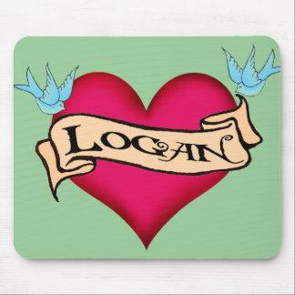 Logan - camisetas y regalos de encargo del tatuaje alfombrillas de ratón