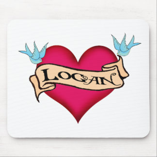 Logan - camisetas y regalos de encargo del tatuaje tapete de raton