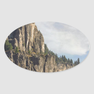 Logan Canyon Right Hand Fork Oval Sticker