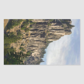 Logan Canyon Right Hand Fork Rectangular Sticker