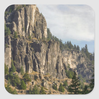 Logan Canyon Right Hand Fork Square Sticker