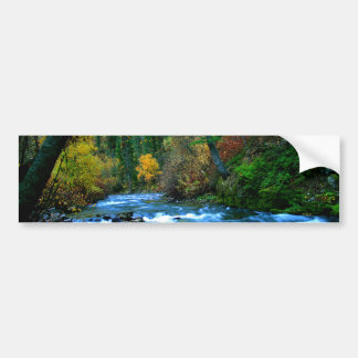 Logan Canyon River Car Bumper Sticker