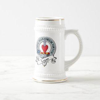 Logan Clan Badge Beer Stein