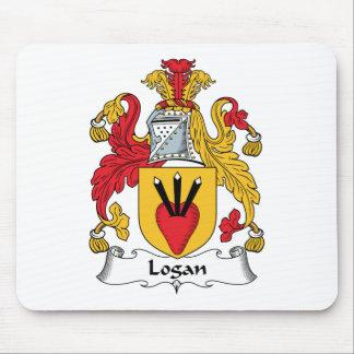 Logan Family Crest Mouse Mat