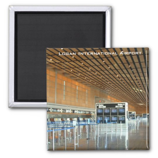 Logan International Airport Magnet