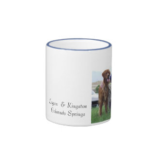 Logan  & Kingston Colorado Springs Ringer Coffee Mug