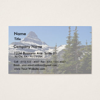 Logan Pass In Glacier National Park Business Card