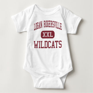 Logan Rogersville - Wildcats - High - Rogersville Baby Bodysuit